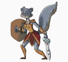 Squirrel Warrior by Skulldixon