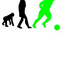 Soccer Evolution (Green) by kwg2200