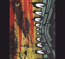 Tribe At Night iPhone case 1 by jon  cooney