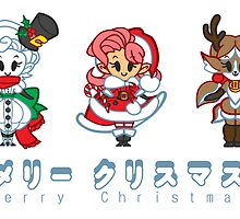 A Very Chibi Christmas by Penelope Barbalios