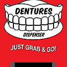 Emergency Dentures Dispenser by NicoWriter