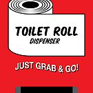 Emergency Toilet Roll Dispenser by NicoWriter