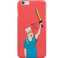 King of the Adventure Time Hill iPhone Case/Skin