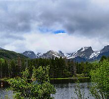 Sprague Lake Panoramic by adastraimages