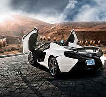 McLaren MP4-12C Spider by Gil Folk