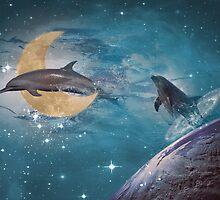 Dolphin Fantasy by Bluepress