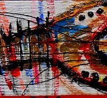 abstract guitar by songsforseba