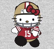 Hello Kitty Loves Michael Crabtree & The San Francisco 49ers! by endlessimages