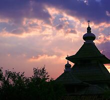 dome mosques in silhouette  by noegrr