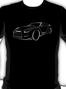 GTR graphic (White) T-Shirt
