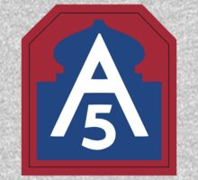 US 5th Army Patch by cadellin