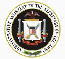 US Administrative Assistant to the Secretary of the Army Seal by cadellin