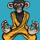 Zen Monkey by Brett Gilbert
