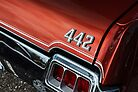 1972 Oldsmobile 442 VII by Eric Christopher Jackson