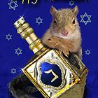 Hanukkah Squirrel by jkartlife