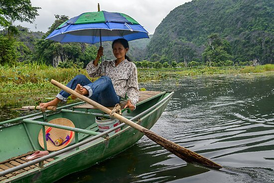 Boat Lady by Werner Padarin