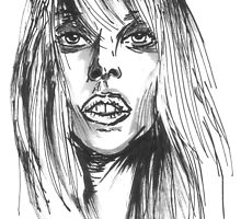 Lady Gaga Fan Art by sketchNkustom