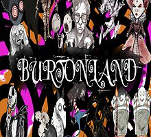 Burtonland Tim Burton Phone Case by sagebxny