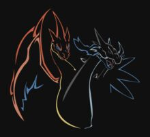 Double Mega Charizard by Chango