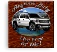 Ford F-150 Truck Anytime Baby Canvas Print