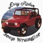 Jeep Wrangler Easy Rider by hotcarshirts