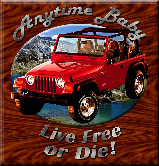 Jeep Wrangler Anytime Baby by hotcarshirts