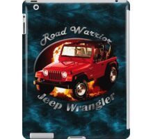 Jeep Wrangler Road Warrior iPad Case/Skin