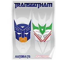 Batman and Transformers - TransGohtam Poster