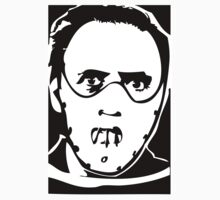 Hannibal Lector Silence of the Lambs Anthony Hopkins by 53V3NH