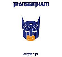 Batman and Transformers - Autobats Photographic Print