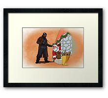 Omar Little strikes again Framed Print