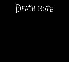 Death note by 0Felix0