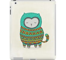 cozy cat iPad Case/Skin