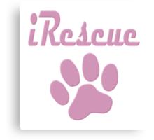 iRescue - animal cruelty, vegan, activist, abuse Canvas Print