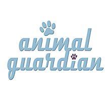animal guardian - animal cruelty, vegan, activist, abuse Photographic Print