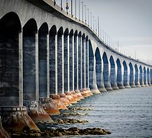 Confederation Bridge by Jean-Paul Boudreau