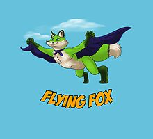Flying Fox-Green by RedDragon1989