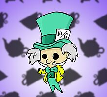 Mad Hatter 1951 by GummiZombie