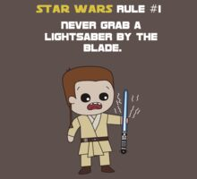 Star Wars Rule #1 (White Text) by Irvin Pagan
