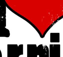 I Heart Kerning Sticker