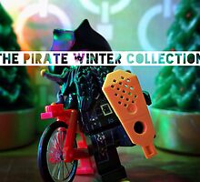 The pirate winter collection - snowshoes  by bricksailboat