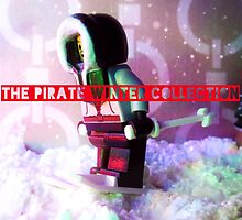 The pirate winter collection - skiing. by bricksailboat