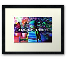 The pirate winter collection - the look. Framed Print