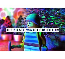 The pirate winter collection - the look. Photographic Print