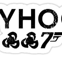 skyhook - bioshock infinite james bond skyfall cross over Sticker