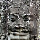 Face of the temple by Paige