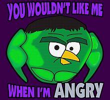 Angry Birds Hulk by RoamingGeek