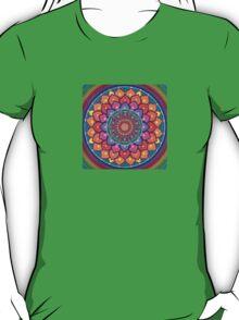 Lotus Rainbow Mandala T-Shirt