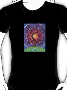 Spiralling Tree of Life T-Shirt