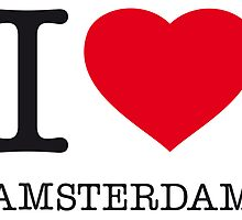I ♥ AMSTERDAM by eyesblau